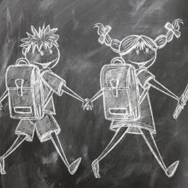 chalk board children